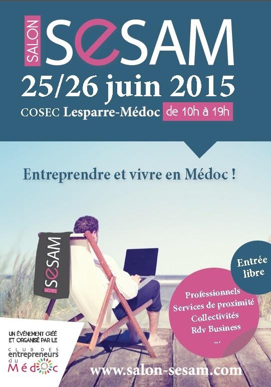 Salon SESAM - Entreprendre et vivre en Médoc