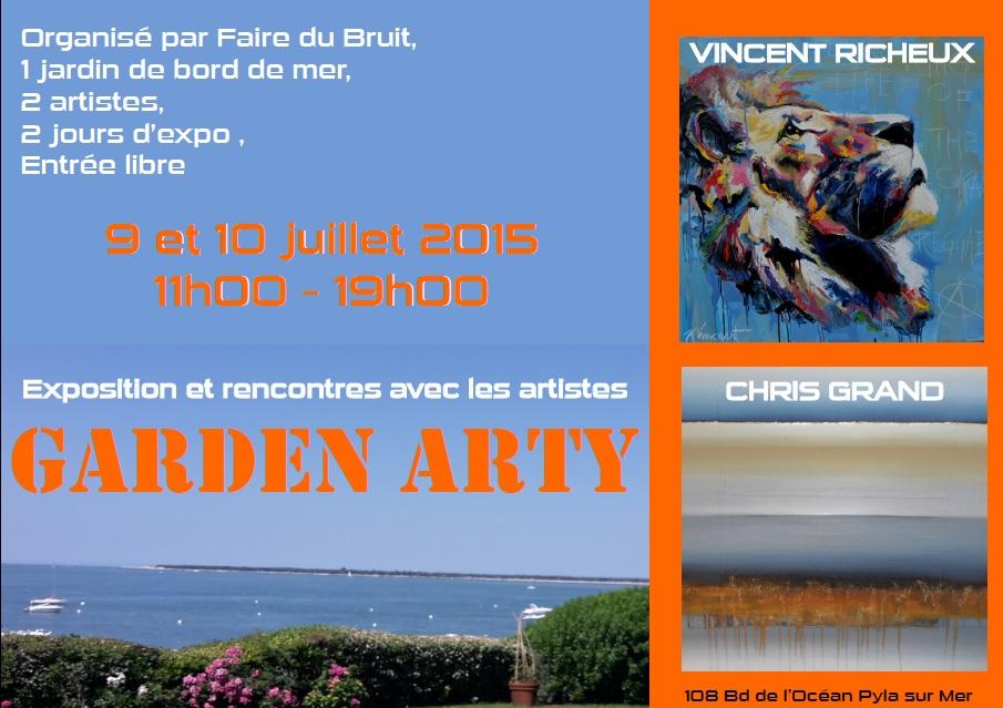 Vincent Richeux Garden Arty au Pyla