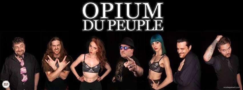 LE 8 JUILLET 2016  Concert : Opium du Peuple et Rodéo sur Juliette à L'Antidote ( Hourtin )