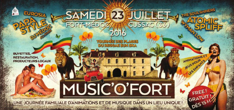 Sam 23 Juillet - Cussac (33)  Music'o'fort
