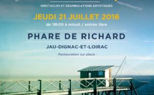 21 JUILLET 2016 > LA NUIT DES CARRELETS > Jour de Fête à Jau-Dignac-et-Loirac (33) Phare de Richard