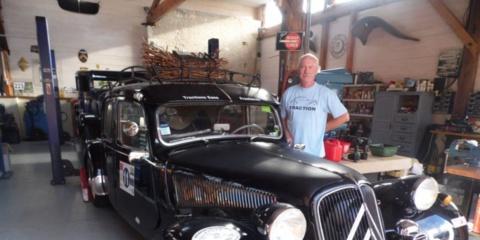 Saint-Yzans : du tracteur à la Traction