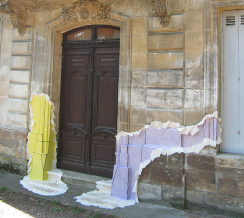 Exposition Max Charvolen Château Lescombes Exposition