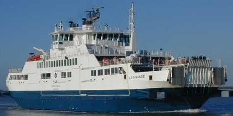 Transports maritimes Ligne Le Verdon - Royan