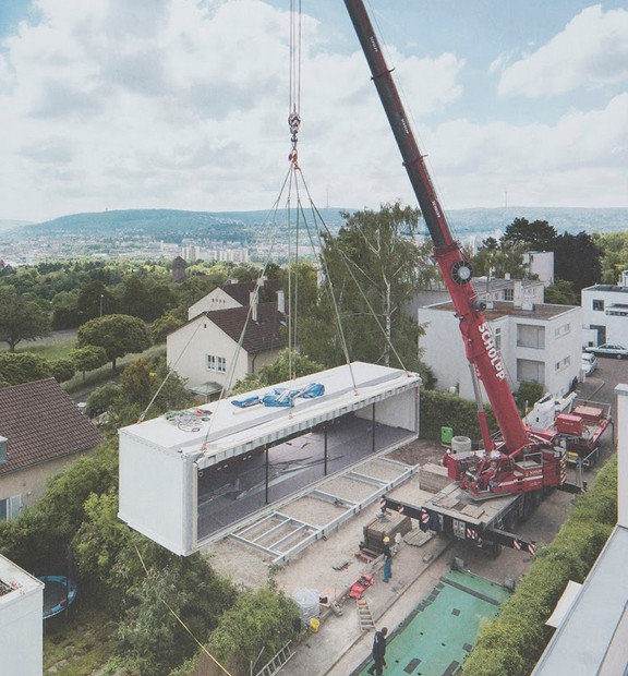"""En Allemagne, la première maison """"zéro énergie, zéro émissions, zéro déchet"""""""