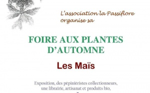 La foire aux plantes d'automne de la passiflore